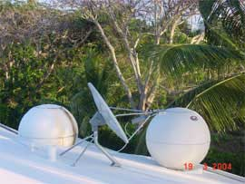 Direcway Satellite Internet Dish