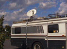 Mobile Satellite Dish