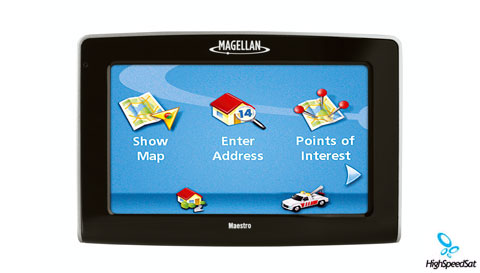"maestro magellan 4210 gps device. Magellan Maestro™ GPS4210 - 4.3"" screen"