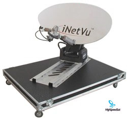 iNetVu | Mobile Satellite Internet | Mobile Antenna
