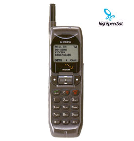 Iridium Motorola 9500 satellite phone