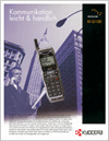 kyocera ki-100 irridium phone brochure
