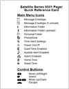 motorola pager quick reference document