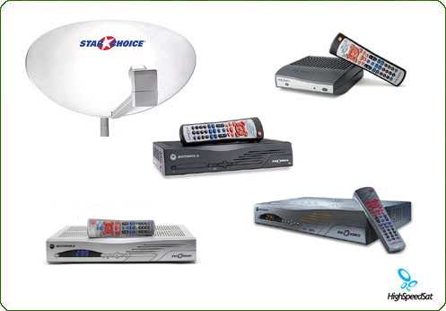 star choce - satellite tv receivers from motorola