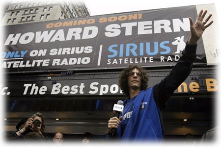 Howard Stern and Sirius Radio